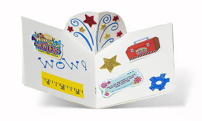 Vacation Bible School (VBS) 2014 Workshop of Wonders Create-A-Story Craft Books - Session 1 (Pkg of 6)