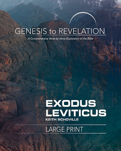 Picture of Genesis to Revelation: Exodus, Leviticus Participant Book Large Print