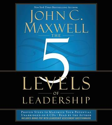 The 5 Levels of Leadership-Audio CD