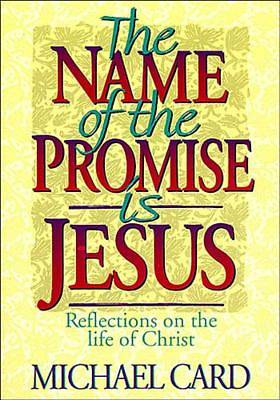 Picture of The Name of the Promise is Jesus