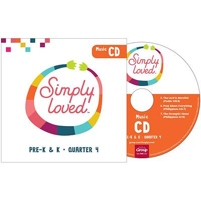 Picture of Simply Loved Q4 PreK-K CD