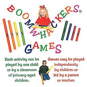 Boomwackers Games CD
