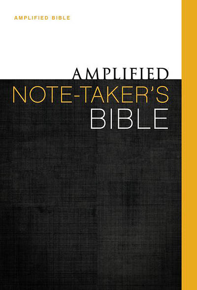 Amplified Note-Takers Bible