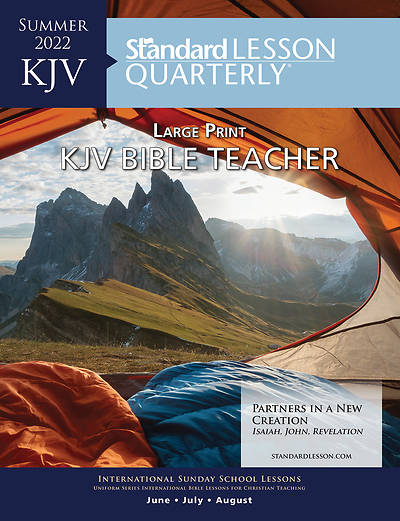 Standard Lesson Quarterly KJV Bible Teacher/Leader Book LP Summer