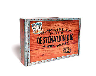 Picture of Vacation Bible School VBS 2021 Destination Dig Unearthing the Truth About Jesus Preschool Starter Kit