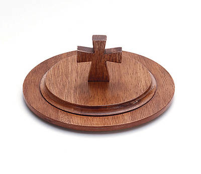 Wooden Stacking Bread Plate Cover
