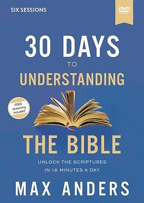 Picture of 30 Days to Understanding the Bible Video Study DVD