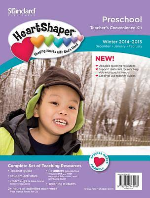 Picture of HeartShaper Preschool Teacher's Convenience Kit Winter 2014-15