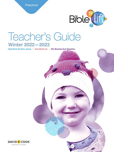 Bible-in-Life Preschool Teachers Guide Winter