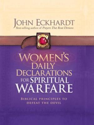 Picture of Women's Daily Declarations for Spiritual Warfare - eBook [ePub]