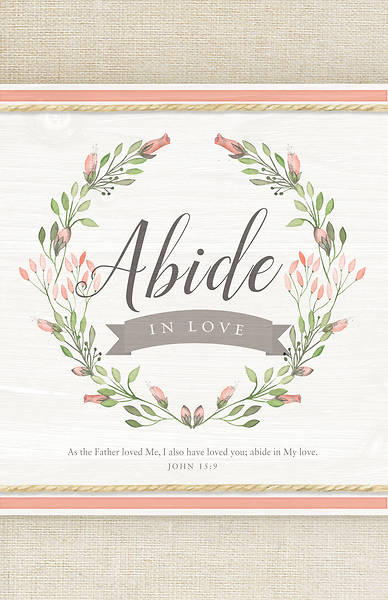 As the Father Loved Me John 15:9 Wedding Regular Size Bulletin