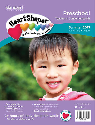 Standards HeartShaper Preschool Teachers Kit: Summer 2013