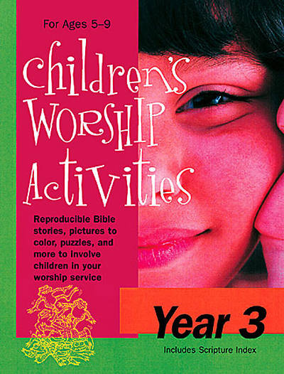 Childrens Worship Activities Year 3