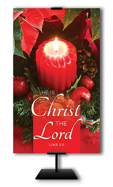 He is Christ the Lord Advent 3 x 5 Banner