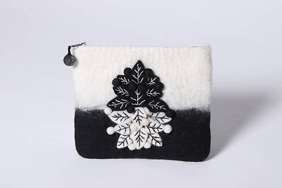 Picture of Handmade Wool Coin Purse - Nepal