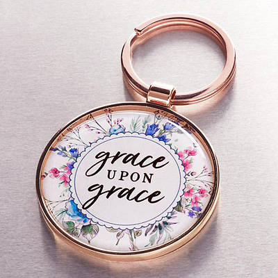 Picture of Keyring in Tin Grace Upon Grace