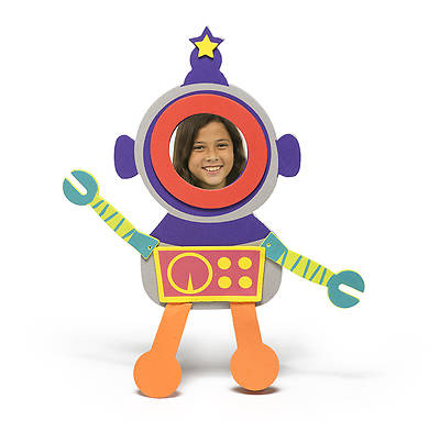Vacation Bible School (VBS) 2014 Workshop of Wonders Wow-Bot Frame Crafts - Session 2 (Pkg of 6)