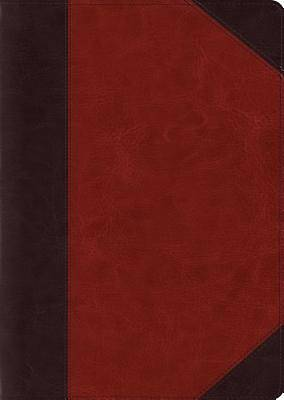 ESV Study Bible, Large Print (Trutone, Brown/Cordovan, Portfolio Design)