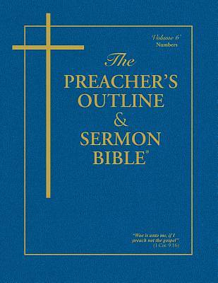 Picture of Preacher's Outline & Sermon Bible-KJV-Numbers