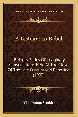 Picture of A LISTENER IN BABEL