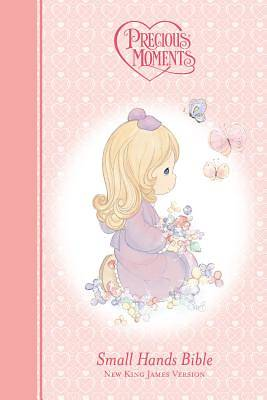 Picture of Precious Moments Holy Bible - Pink NKJV