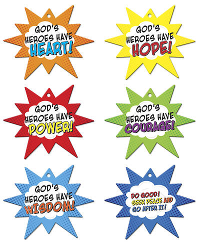 Vacation Bible School 2017 VBS Hero Central Code Mobiles Pkg Of