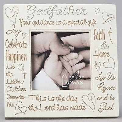 Picture of Baptism Godfather Photo Frame