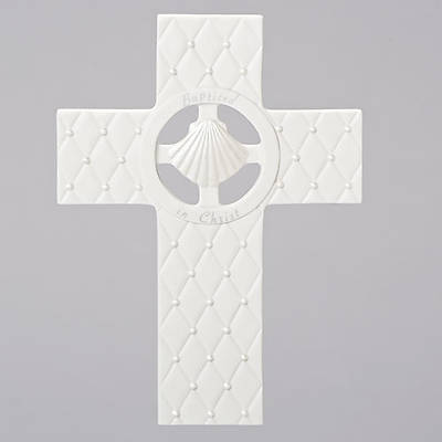 Picture of Baptized In Christ -Faithful Blessing Wall Cross 7.5""