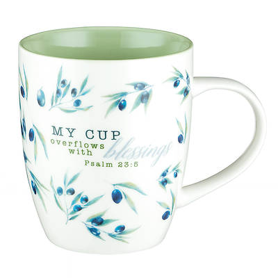 Picture of Mug My Cup Overflows With Blessings