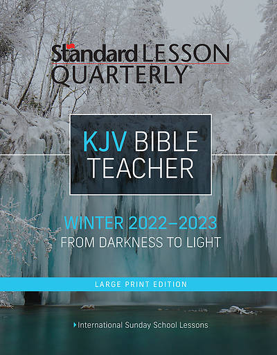 Standard Lesson Quarterly KJV Bible Teacher Large Print Winter 2017-18