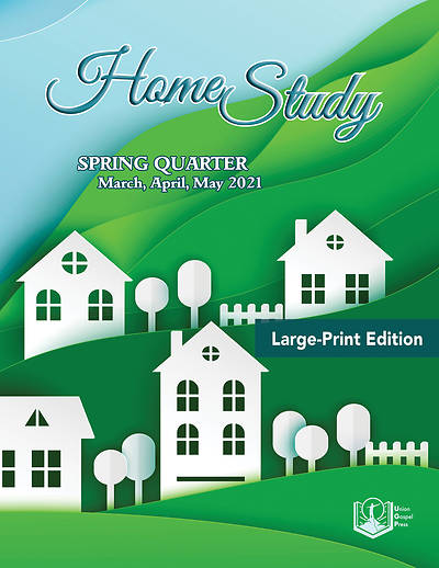 Picture of Union Gospel Home Study Large Print Spring 2021
