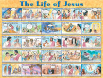 Life of Jesus Poster - Laminated