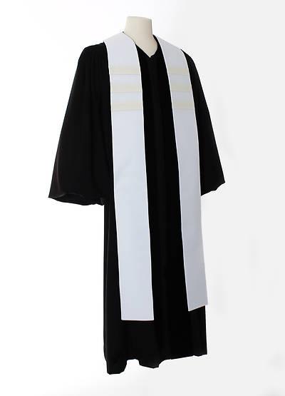 Picture of Trinity Stripe Stole - White