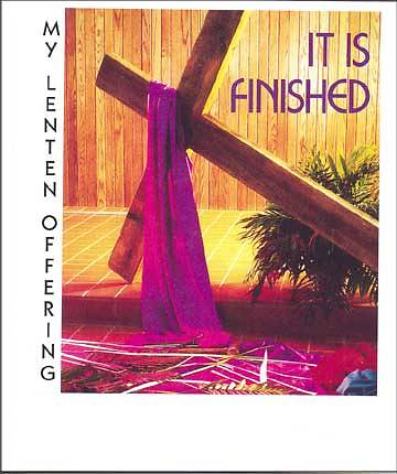"""Finished, Yet Not Finished"" $10 Lent Coin Folder (Package of 50)"