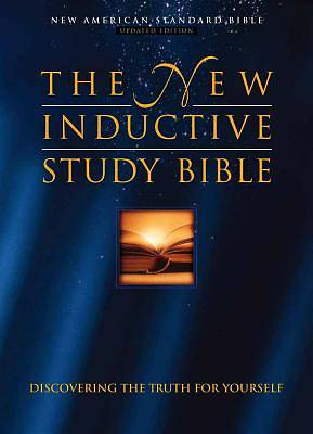 The New Inductive Study Bible Burgundy Genuine Leather with Concordance