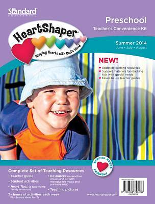 Standard HeartShaper Preschool Teachers Kit Summer 2014
