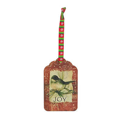 Blackbird Joy Metal Ornament