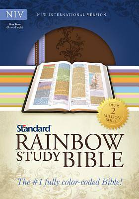 New International Version Standard Rainbow Study Bible