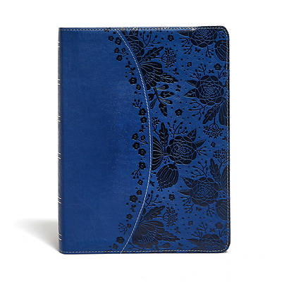 Picture of KJV Study Bible Indigo Leathertouch Indexed