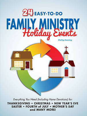 Picture of 24 Easy-To-Do Family Ministry Holiday Events