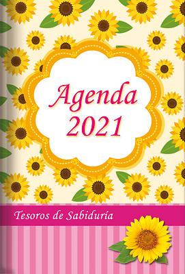 Picture of 2021 Agenda - Tesoros de Sabiduría - Girasol