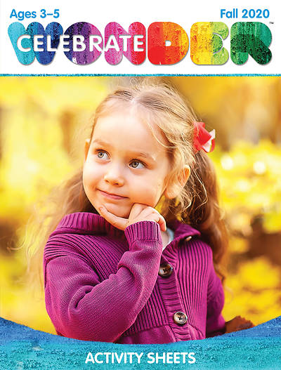 Picture of Celebrate Wonder Ages 3-5 Activity Sheets Fall 2020