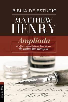 Picture of Rvr Biblia de Estudio Matthew Henry, Tapa Dura, Con Índice