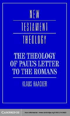 The Theology of Pauls Letter to the Romans [Adobe Ebook]