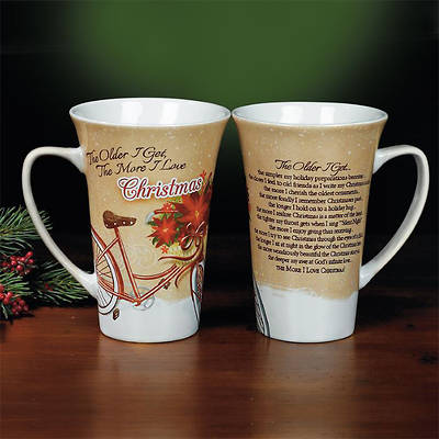 The Older I Get... Christmas Latte Mug