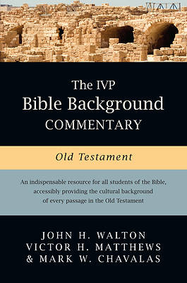 IVP Bible Background Commentary Old Testament