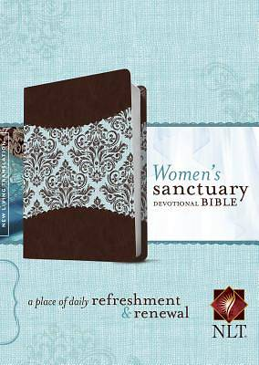 Picture of Women's Sanctuary Devotional Bible-NLT