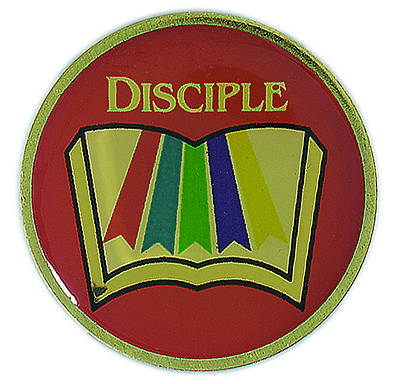 Picture of Disciple I-IV Multiphase Lapel Pins (Pkg of 6)