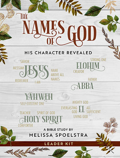 Picture of The Names of God - Women's Bible Study Leader Kit