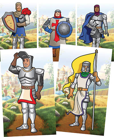 Group VBS 2013 Kingdom Rock Giant Decorating Poster Pack: Knight (set of 5)
